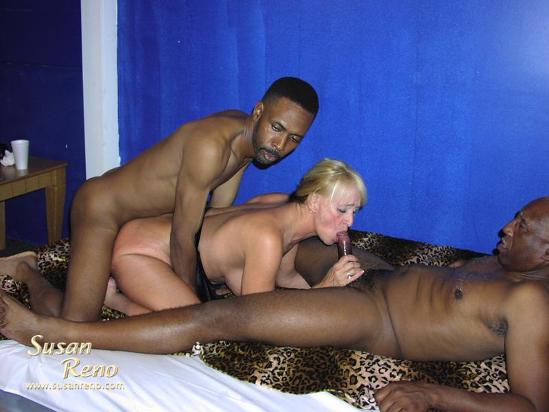 Susan reno black cock group fuck 2